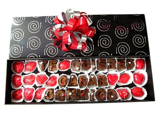 Un don juan que clase de chocolate regala